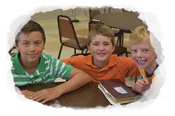 Kids Three Boys