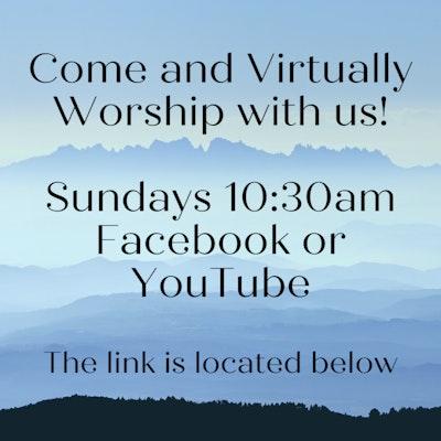Come And Virtually Worship With Us