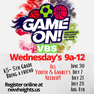 Vbs Wednesday 9a 12